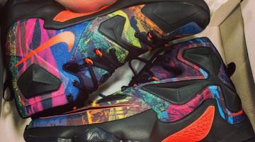 Rainbow Nike Lebron 13