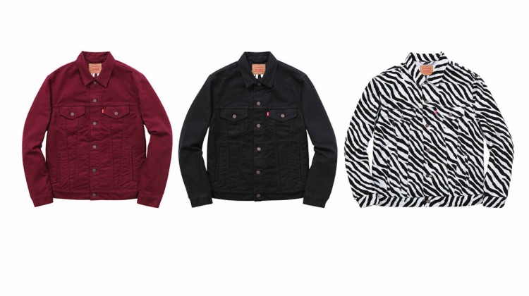 Supreme X Levi's Fall/Winter 2015 Collection Jackets