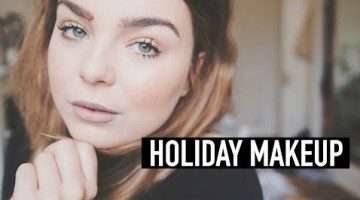 Holiday Makeup Tutorial - Winter Christmas Party Look 2015