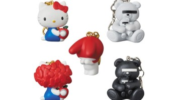Medicom Toy Will Be Releaseaing UNDERCOVER X Sanrio Keychains