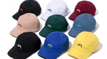 Stussy Stock Logo Chapter Lo Pro Strapback Spring 2016 Collection