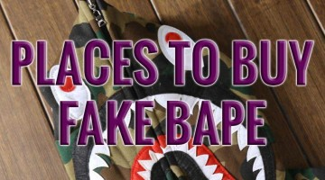 Where to Buy Fake Bape