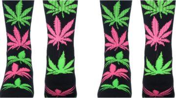HUF weed socks