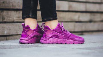 Womens Nike Air huarache Violet