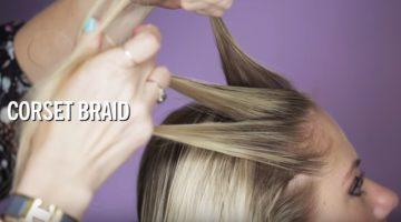 How to do a Corset Braid