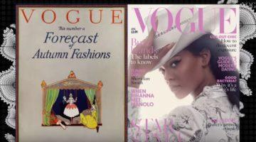 British Vogue 100 years