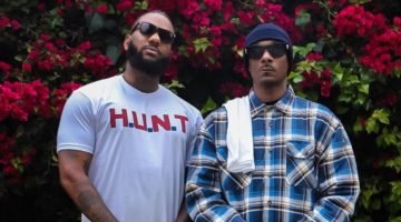 The Game and Snoop Dogg Protest H.U.N.T shirt