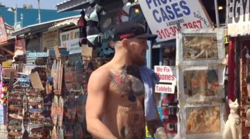 Connor McGregor Shirtless