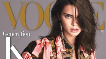 Kendall Jenner Vogue Magazine