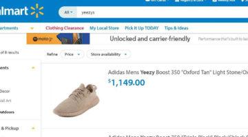 Walmart Yeezys