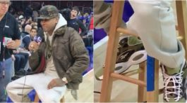Allen Iverson BAPE Reebok Question Mid Shoes Hall of Fame
