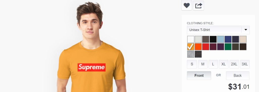 Where to Buy Fake Supreme - Redbubble