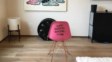 Anti Social Club furniture chair