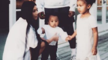 Kim Kardashian Kanye West Children Clothing