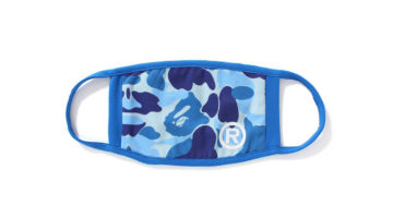 Bape Face Mask Blue