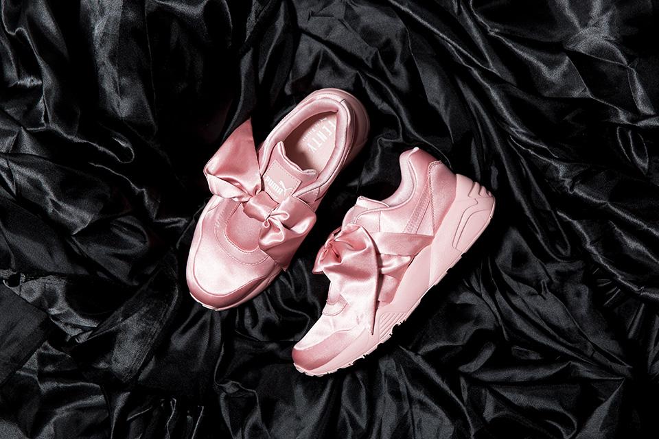 Rihanna Fenty Puma Bow Shoes (pink)