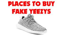 Where to Buy Fake Yeezys