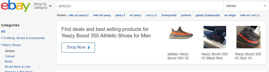 Where to Buy Fake Yeezys - eBay