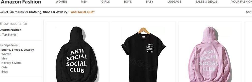 Best place to buy club clothes