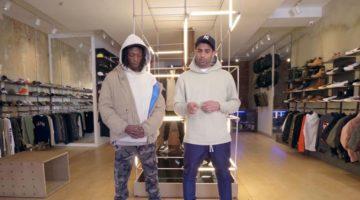 Joey Bada$$ Sneaker Shopping