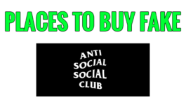 Places to Buy Fake Anti Social Social Club