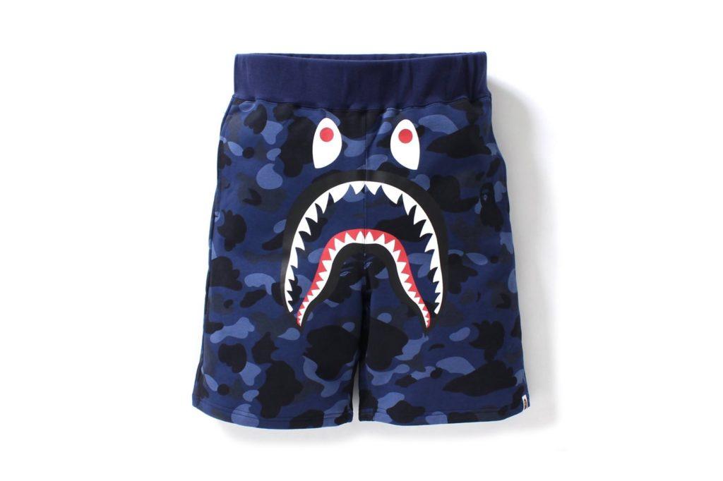 Bape camo shark shorts (2)