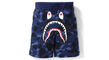 Bape camo shark shorts (2)