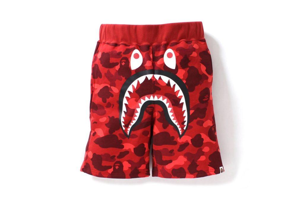 Bape camo shark shorts (3)