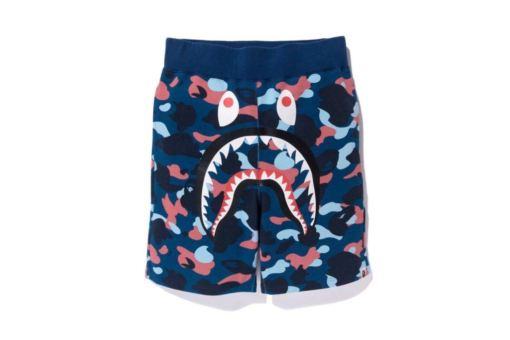 Bape camo shark shorts (4)