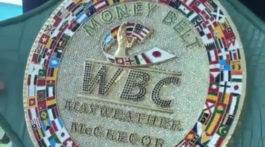 WBC Money Belt Mayweather McGregor