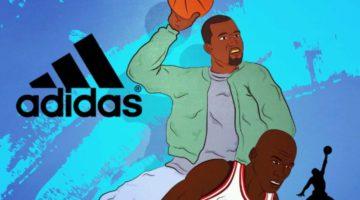 Adidas Beats Jordan Jumpan