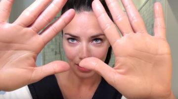 Adriana Lima Makeup routine