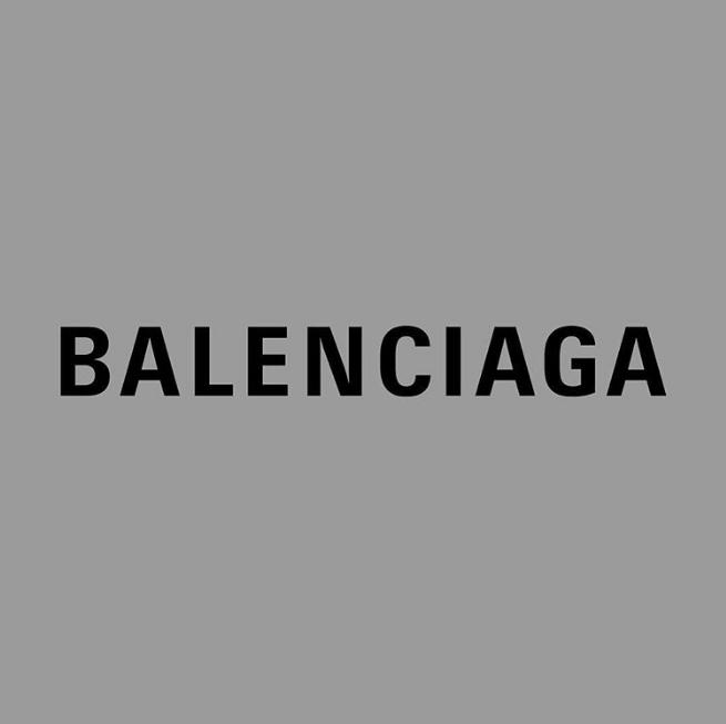 New Balenciaga Logo