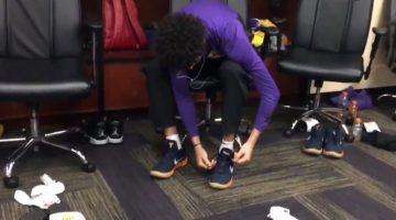 Lonzo Ball Kobe Ad Lakers Preseason