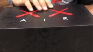 Black Kaws X Jordan 4