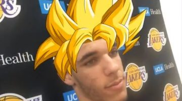 Lonzo Ball Haircut