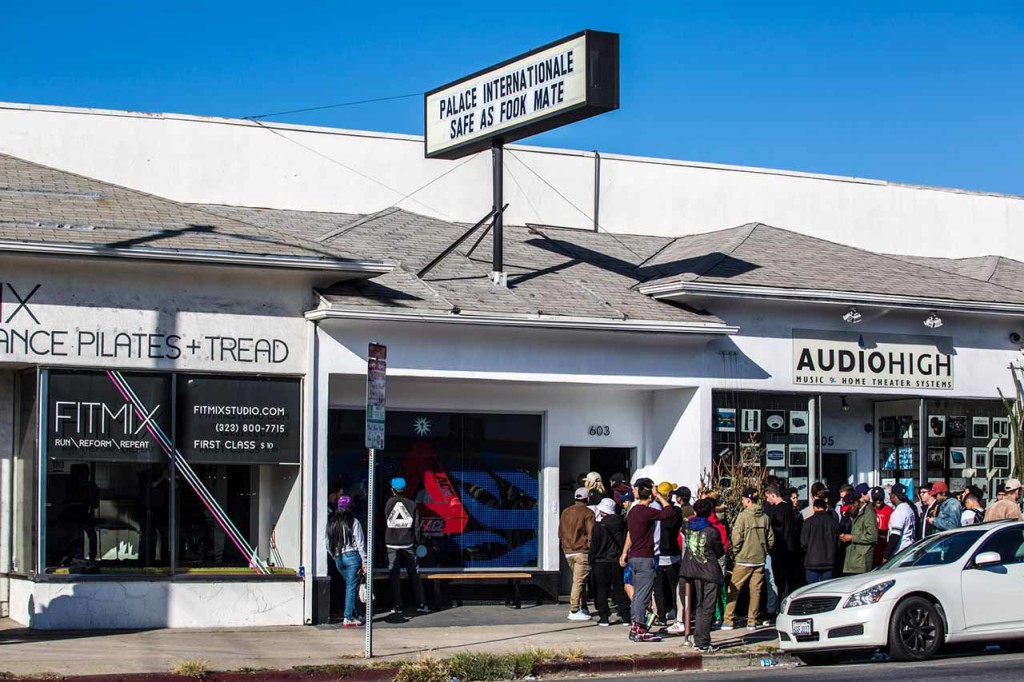 94a5bc0e911f Palace Skateboards Opens Pop-Up Shop in Los Angeles – aGOODoutfit