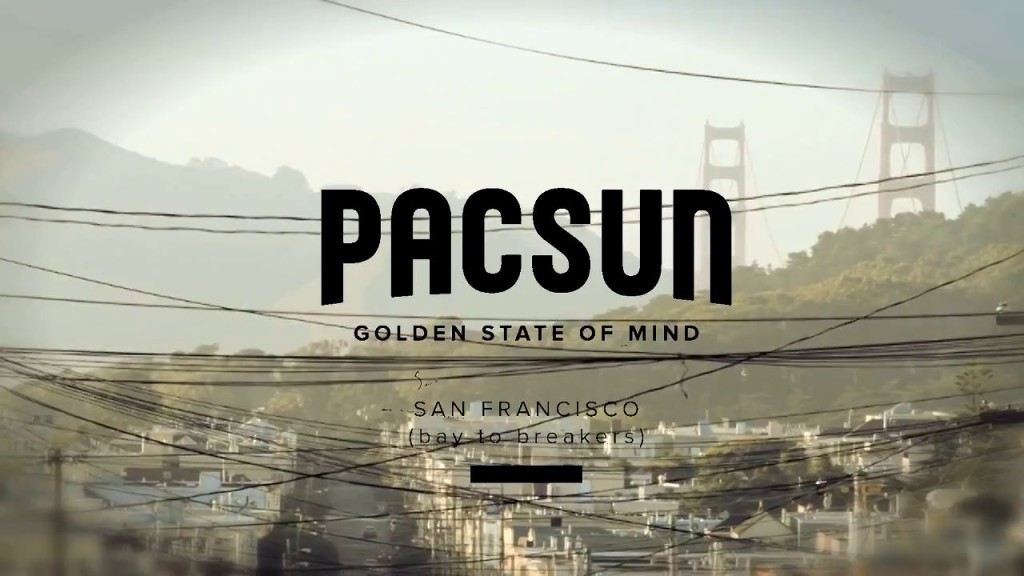 Pacsun golden state of mind