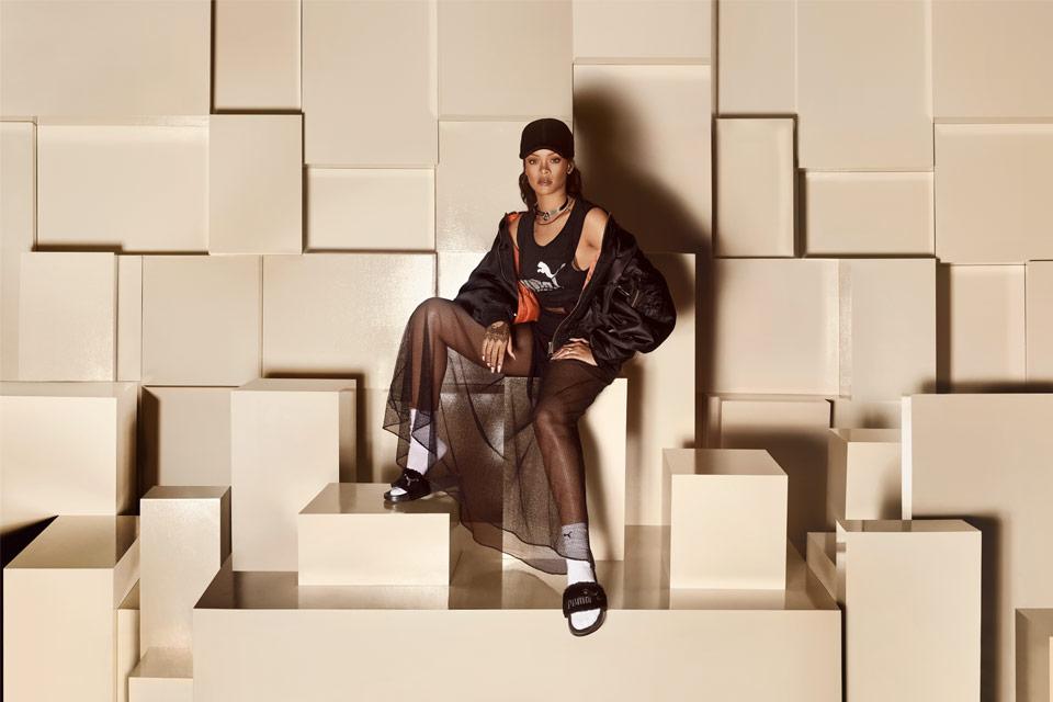 wholesale dealer b316d 9b1b0 PUMA Unveils The New Rihanna X PUMA Fenty Slides – aGOODoutfit