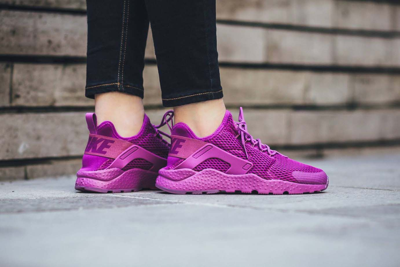 "fb2c809a7abd Nike Releases Awesome Air Huarache Run Ultra in ""Hyper Violet ..."