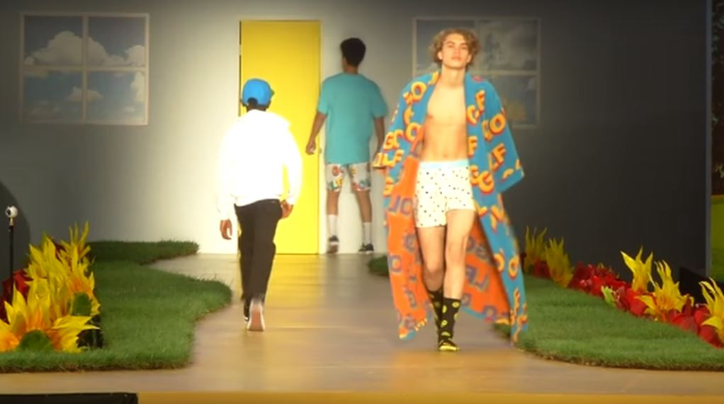 dc61a5466c44 Watch the First Ever Golf Fashion Show with Tyler the Creator – aGOODoutfit