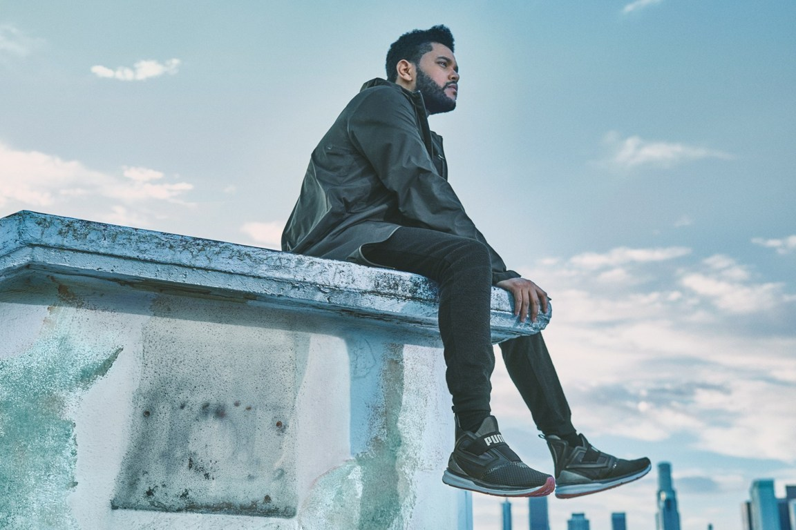 add9ae8cf67523 The Weeknd Unveils New PUMA IGNITE Limitless Sneakers – aGOODoutfit