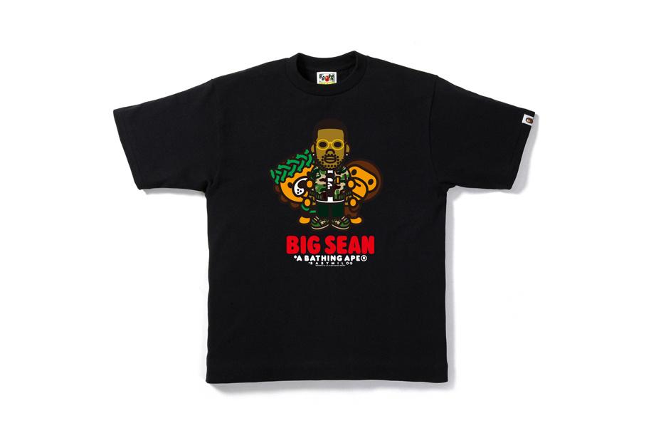 6a024b670 Bape travis scott big sean t shirt ...