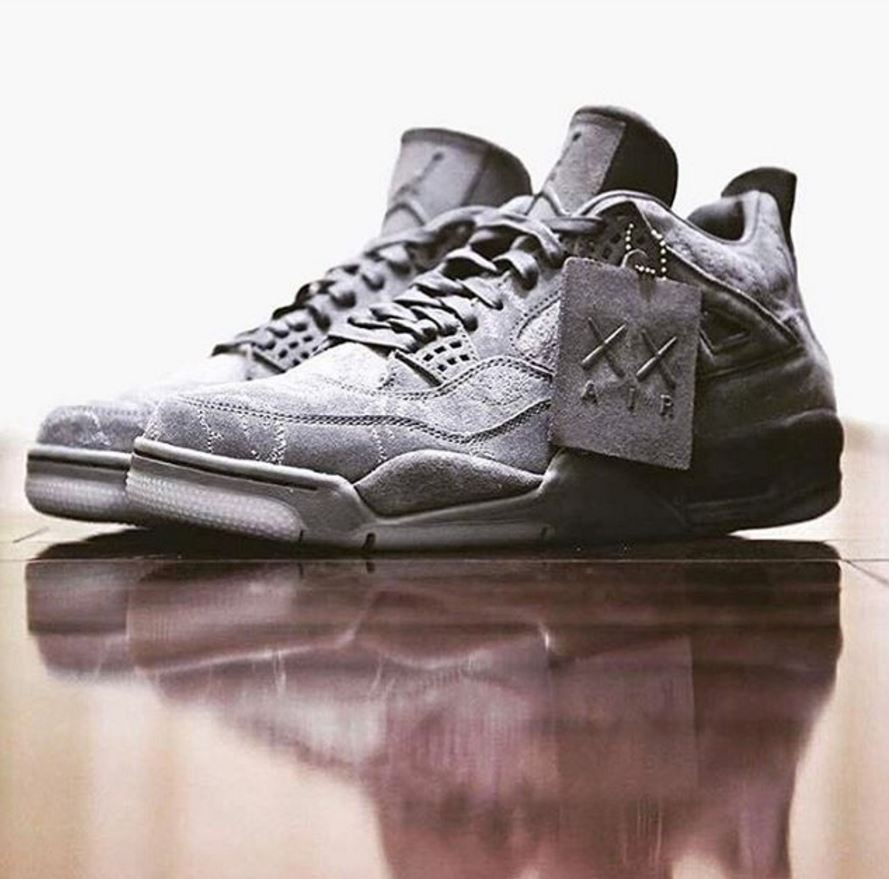 various colors f5b6c 41aef KAWS X Nike Air Jordan 4 Collaboration Coming Soon – aGOODoutfit