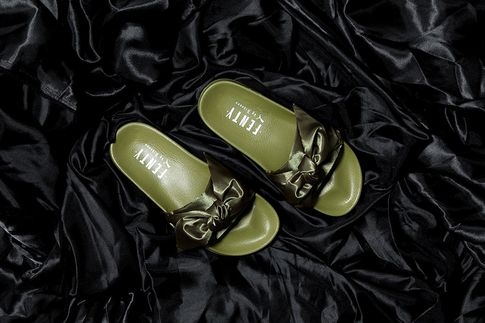 "the best attitude 4d7a7 4987d Rihanna FENTY X PUMA ""Bow"" Collection Now Available ..."