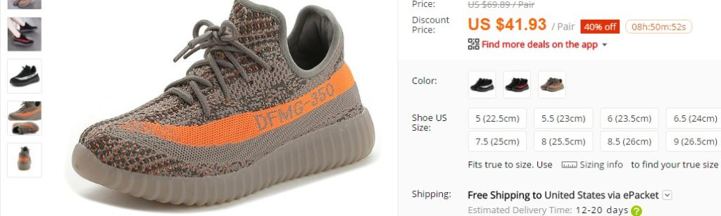 places to buy yeezy