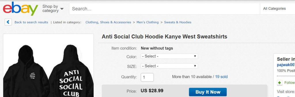 aa5364091a71 Places to Buy Fake Anti Social Social Club – aGOODoutfit