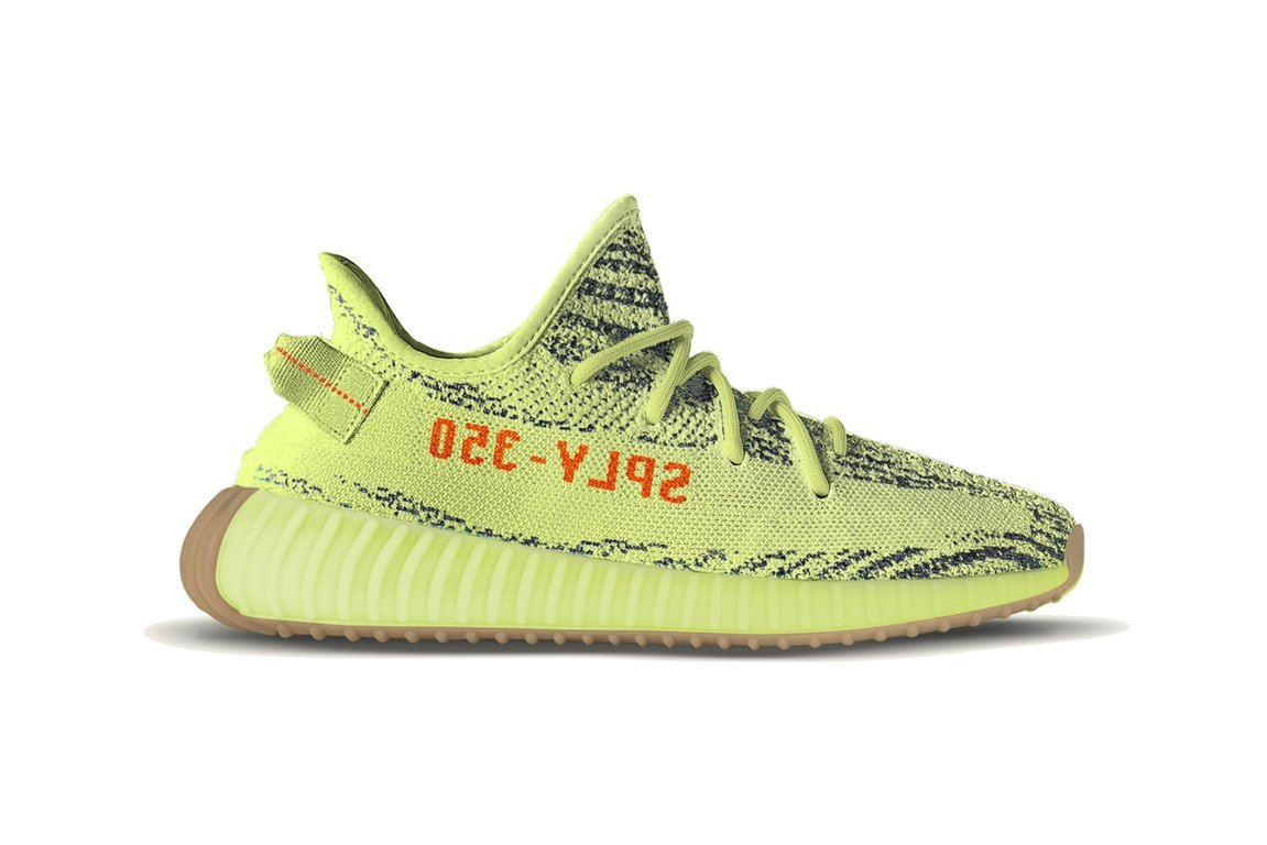 b9b4054dd08 Yeezys semi frozen yellow ...