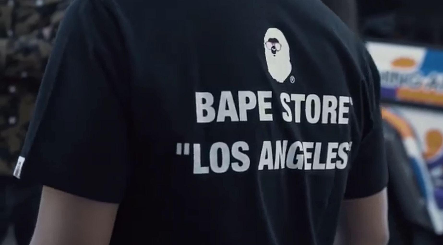 7c584558c Bape Store Los Angeles Opening ...