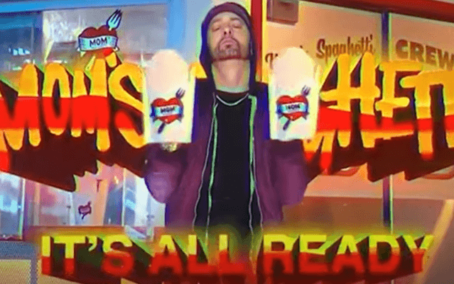 """Eminem Will Be Opening """"Mom's Spaghetti"""" Restaurant in ...  Eminem And His Mother"""